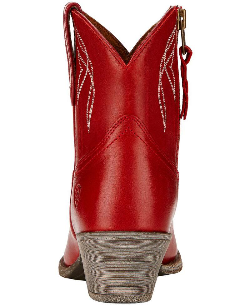 Ariat Women's Darlin Booties, Red, hi-res