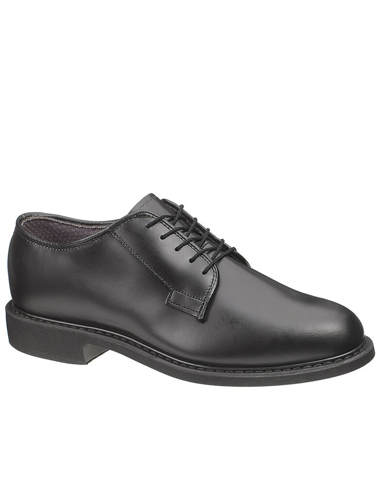 Bates Men's Uniform Oxford Shoes, Black, hi-res