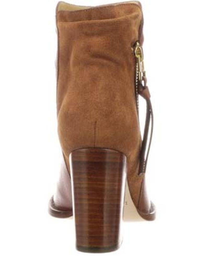 Lucchese Women's Redwood Britta Fashion Booties - Round Toe, Bark, hi-res