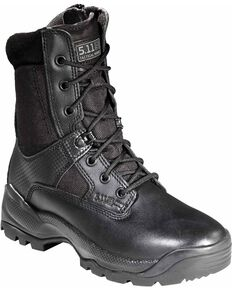 "5.11 Tactical Women's A.T.A.C. 8"" Boots, Black, hi-res"