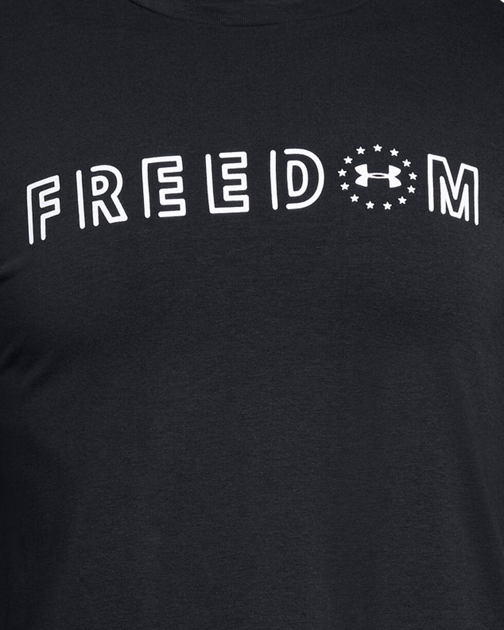Under Armour Men's Black Freedom Flag Bold Tee , Black, hi-res