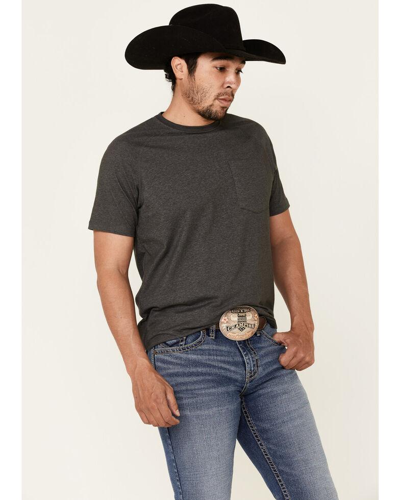 Cody James Men's Bronco Medium Wash Stackable Straight Stretch Jeans, Blue, hi-res