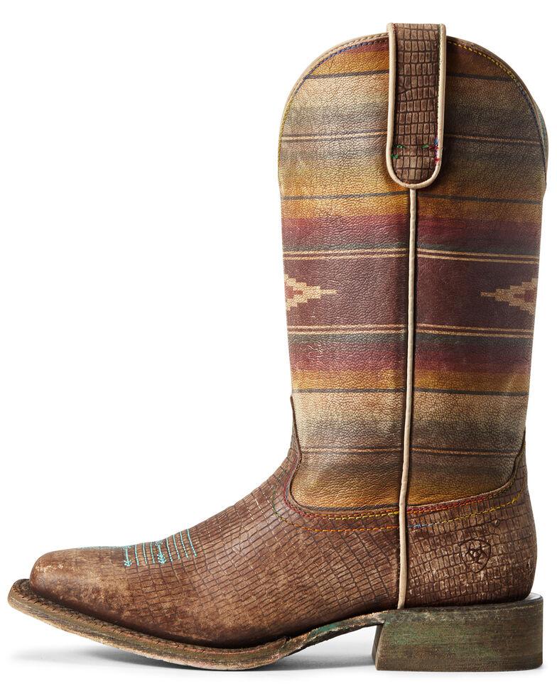 ef8837ae068 Ariat Women's Serape Savanna Western Boots - Wide Squar Toe