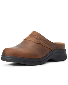 Ariat Women's Bridgeport Mules - Round Toe, Brown, hi-res