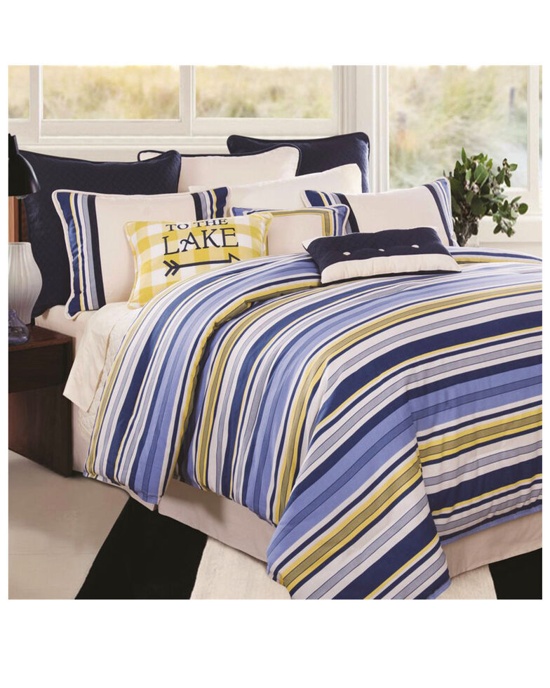 HiEnd Accents Super King Beaufort Bedding Set, Multi, hi-res