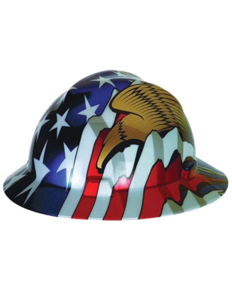 MSA Flag and Eagle Hard Hat, Multi, hi-res