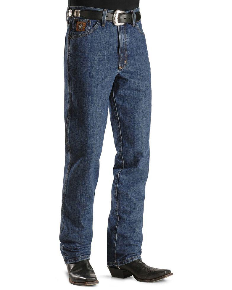 Cinch Men's Bronze Label Tapered Slim Fit Jeans , Dark Stone, hi-res