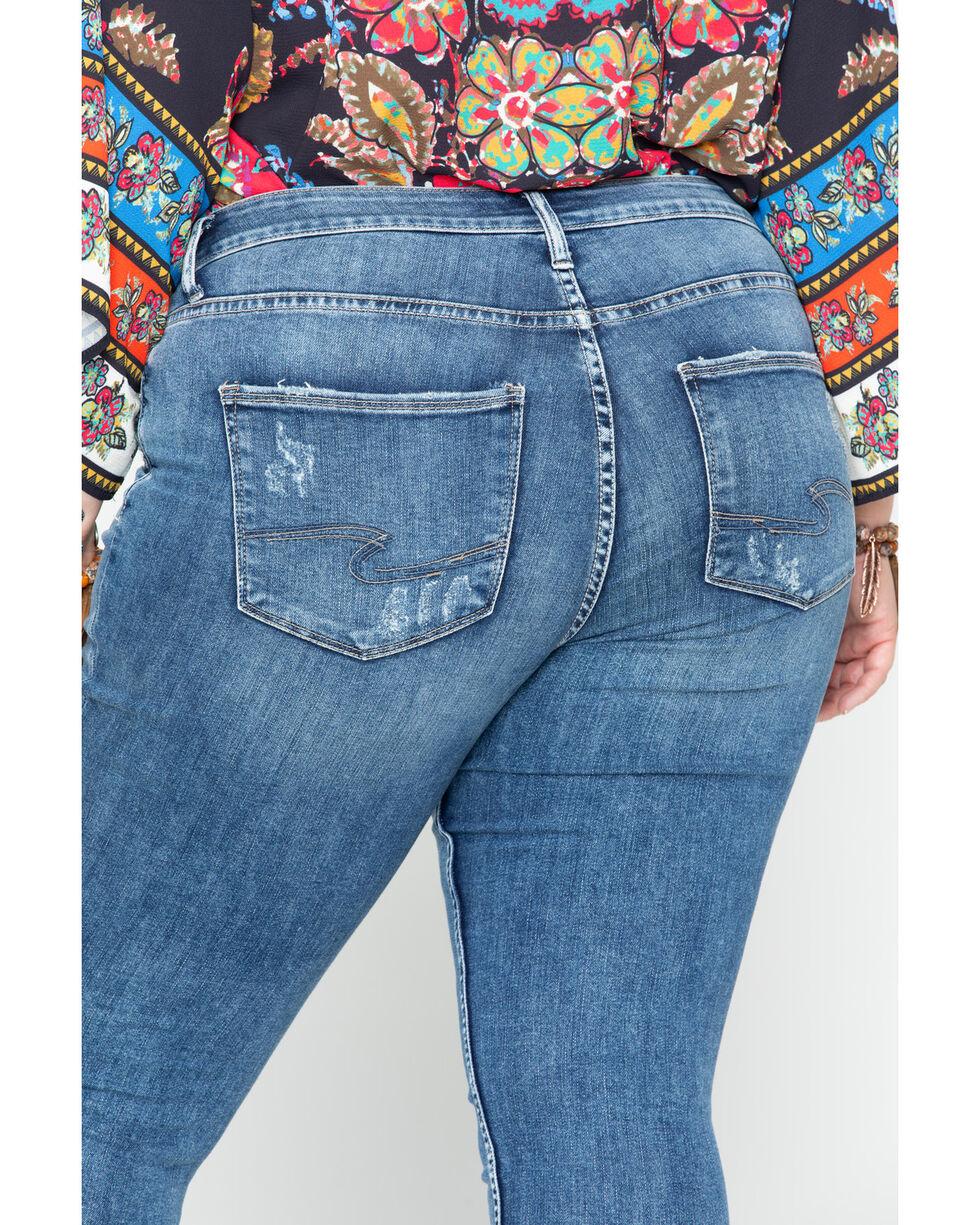 Silver Women's Suki Super Skinny Jeans - Plus , Indigo, hi-res