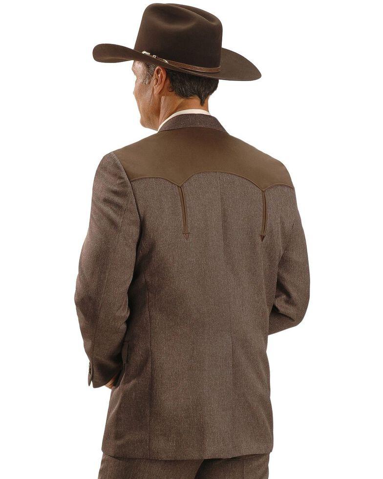 Circle S Men's Western Sports Coat, Chestnut, hi-res