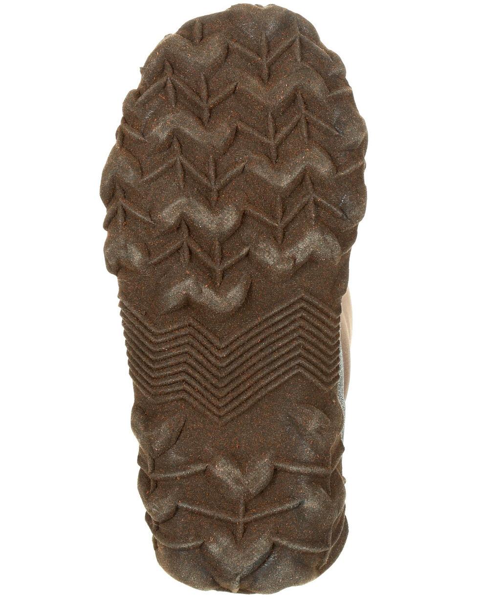 Rocky Boys' Core Rubber Waterproof Outdoor Boots - Round Toe, Dark Brown, hi-res