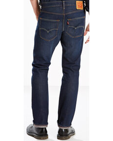 Levi's Men's Blue 501 Original Fit Anchor Stretch Straight Jeans , Blue, hi-res