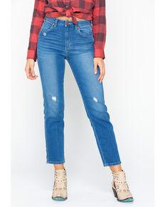 Wrangler Modern Women's High Rise Heritage Jeans, Light Blue, hi-res