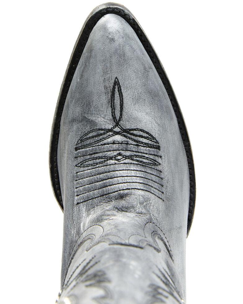 Idyllwind Women's Platinum Western Boots - Round Toe, Silver, hi-res