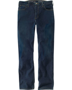 Carhartt Men's Rugged Flex Straight Tapered Jeans , Blue, hi-res