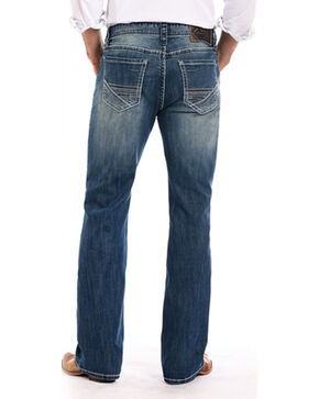 Rock & Roll Cowboy Men's Double Barrel Reflex Jeans - Boot Cut , Indigo, hi-res