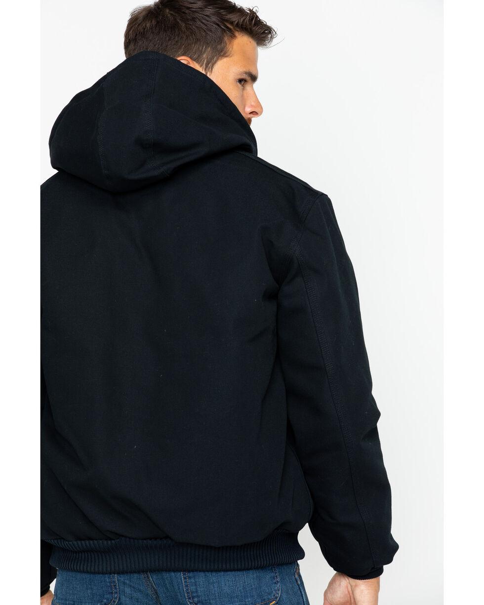 Hawx Men's Zip-Front Work Hoodie, Black, hi-res