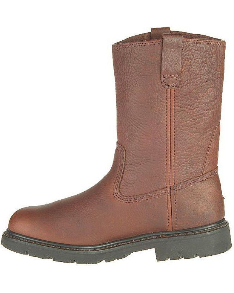 CAT Men's Colt Steel Toe Work Boots, Earth, hi-res