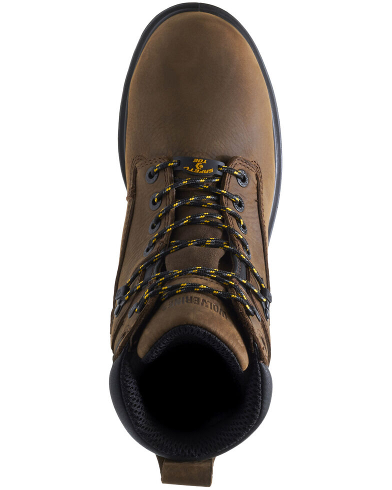 Wolverine Men's I-90 EPX Insulated Work Boots - Composite Toe, Dark Brown, hi-res