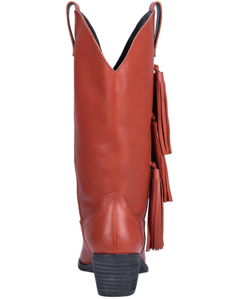 Dingo Women's Rust Thunderbird Western Boots - Round Toe, Rust Copper, hi-res
