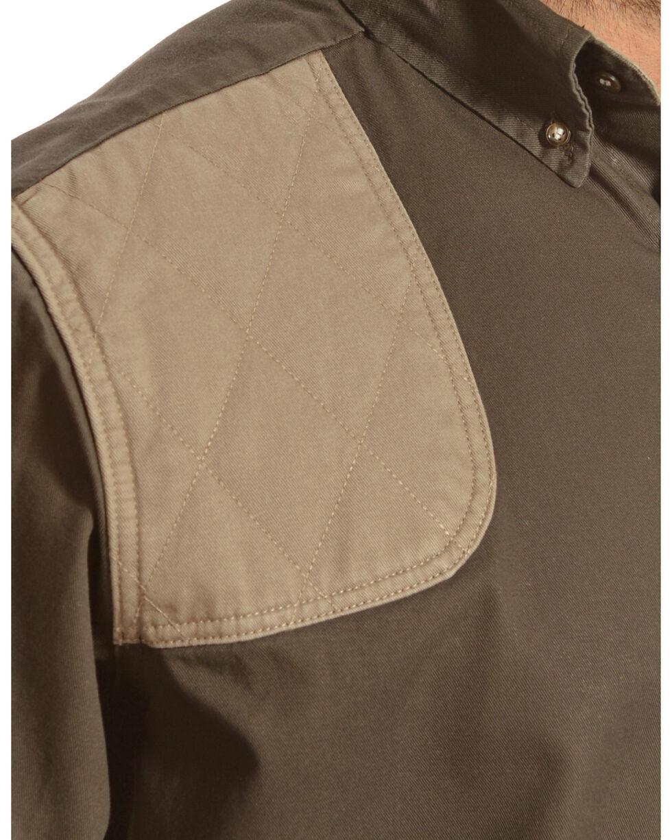 Gibson Trading Co. Men's Long Sleeve Shooting Shirt, Green, hi-res