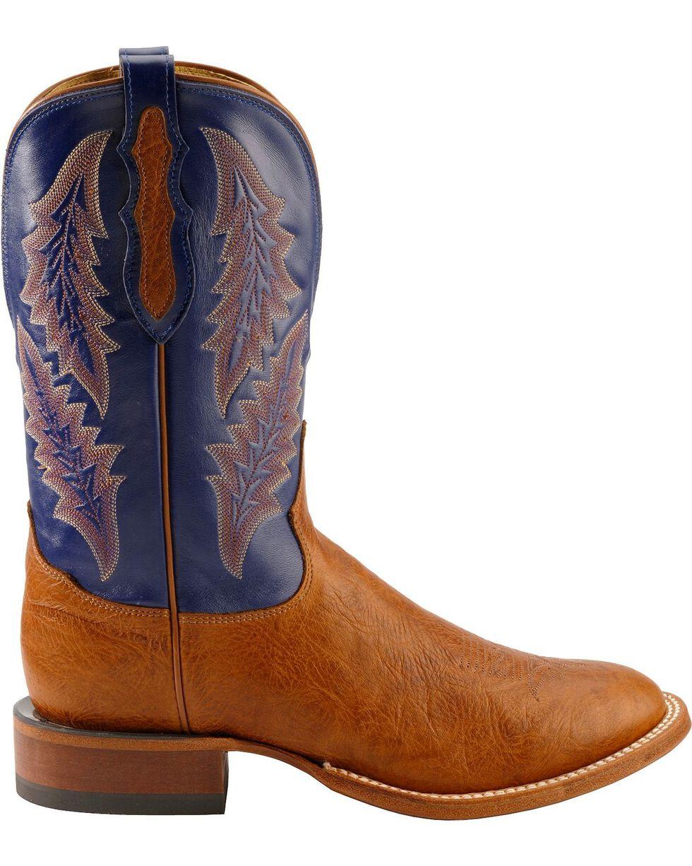 Tony Lama Men's Round Toe Shrunken Shoulder Square Toe Western Boots, Aztec, hi-res