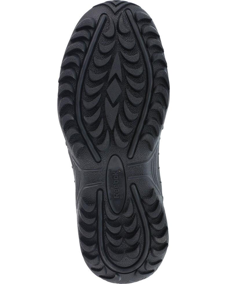 """Reebok Men's Stealth 8"""" Lace-Up Black Side-Zip Work Boots, Black, hi-res"""