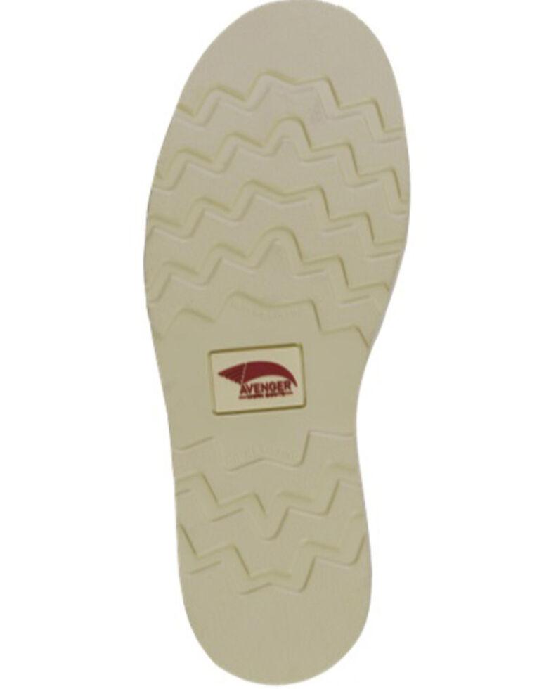 Avenger Men's Waterproof Wedge Chelsea Work Boots - Soft Toe, Brown, hi-res