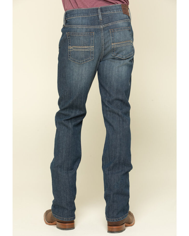 Cody James Men's Sheridan Dark Wash Stretch Slim Straight Jeans , Indigo, hi-res