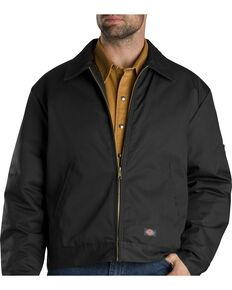 Dickies  Insulated Eisenhower Jacket - Big & Tall, Black, hi-res