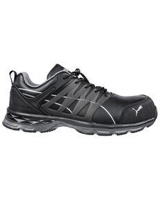 Puma Men's Velocity Work Shoes - Composite Toe, Black, hi-res