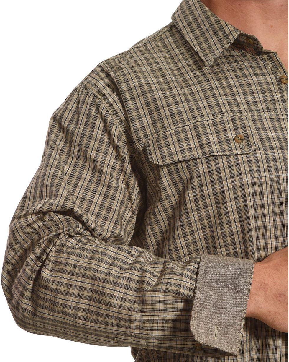 American Worker Men's Freepoint Plaid Work Shirt, Beige/khaki, hi-res
