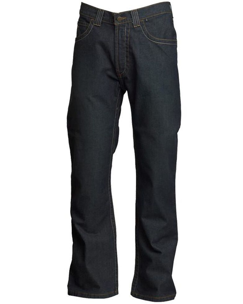 LAPCO Men's FR Modern Jeans, Dark Blue, hi-res