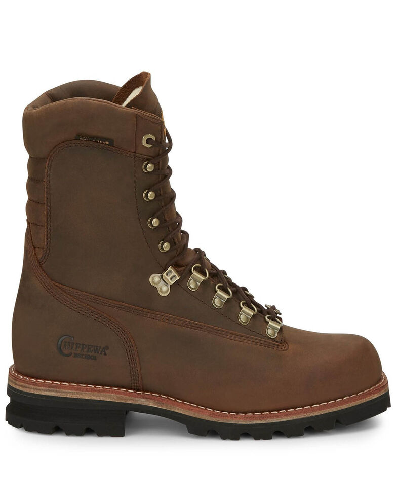 Chippewa Men's Weddell Bay Apache Work Boots - Soft Toe, Brown, hi-res
