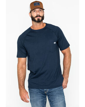 Dickies Men's Navy Temp-IQ Performance Cooling T-Shirt - Tall, Navy, hi-res