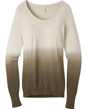 Mountain Khakis Women's Darby Dip-Dyed Sweater, Cream, hi-res