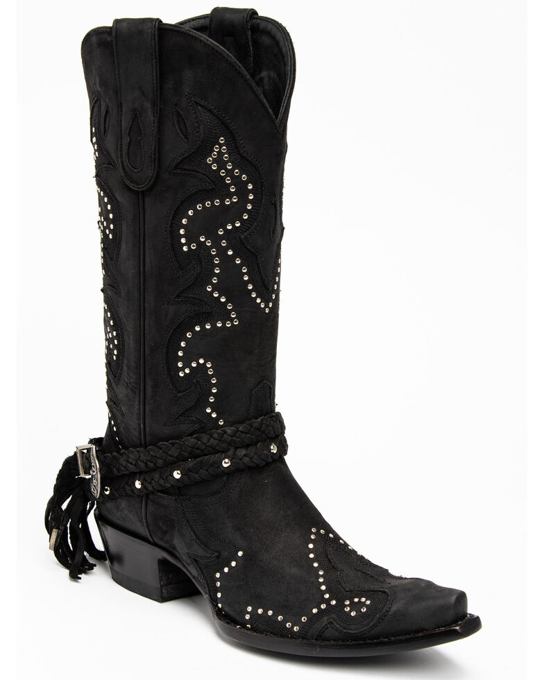 Idyllwind Women's Black Barfly Western Boots - Snip Toe, , hi-res