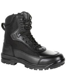Rocky Men's X-Flex Public Serve Work Boots - Soft Toe, Black, hi-res