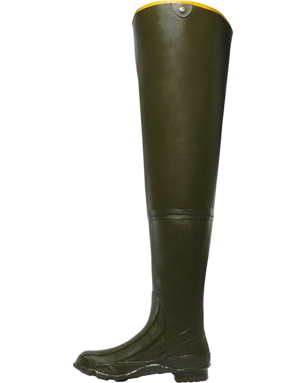 "LaCrosse Men's Big Chief 32"" Wader Boots, Green, hi-res"