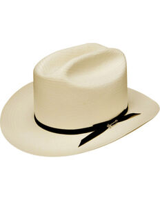 d78629770f1 Stetson Men s White Shantung Open Road Hat