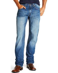 Ariat Men's M2 Cody Relaxed Fit Boot Cut Jeans, Indigo, hi-res