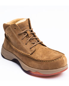 Cody James Men's Casual Driver Work Boots - Composite Toe, Brown, hi-res