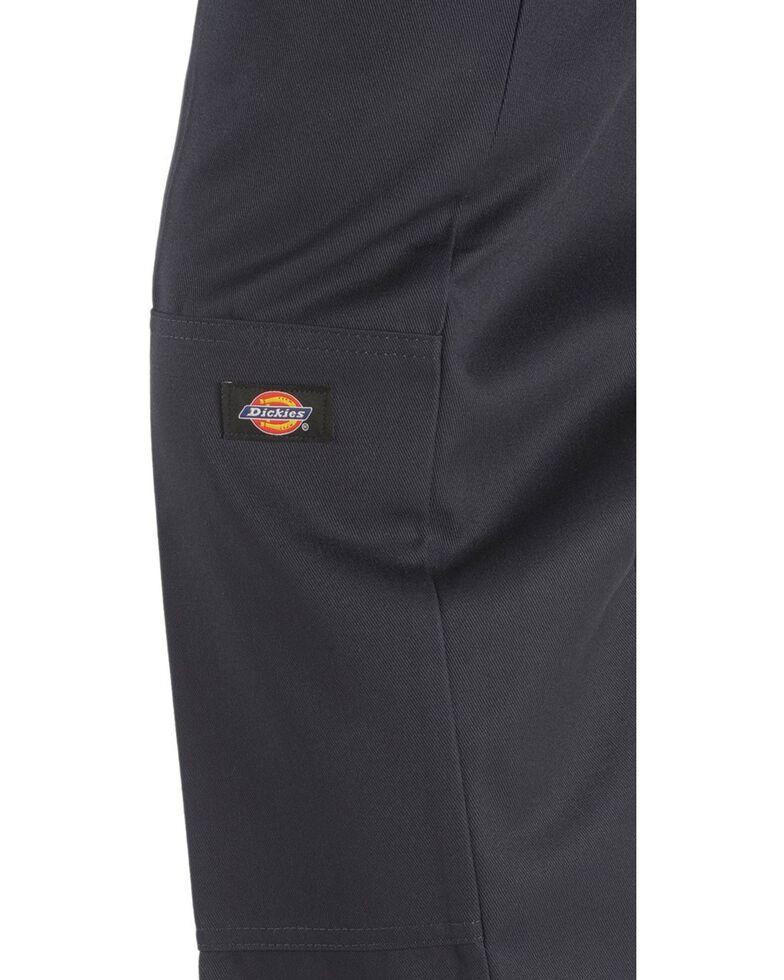 Dickies  Loose Fit Double Knee Work Pants - Big & Tall, Navy, hi-res