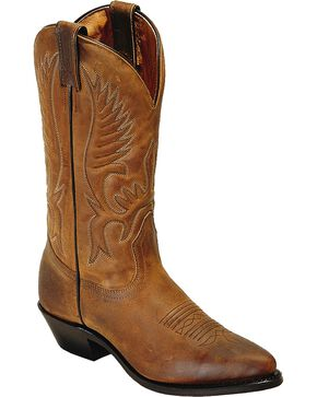 Boulet Women's Cowboy Toe Western Boots, Golden Tan, hi-res