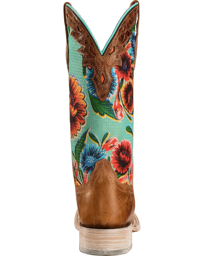 a1e4cbaa4a8 Ariat Women s Floral Textile Circuit Champion Western Boots