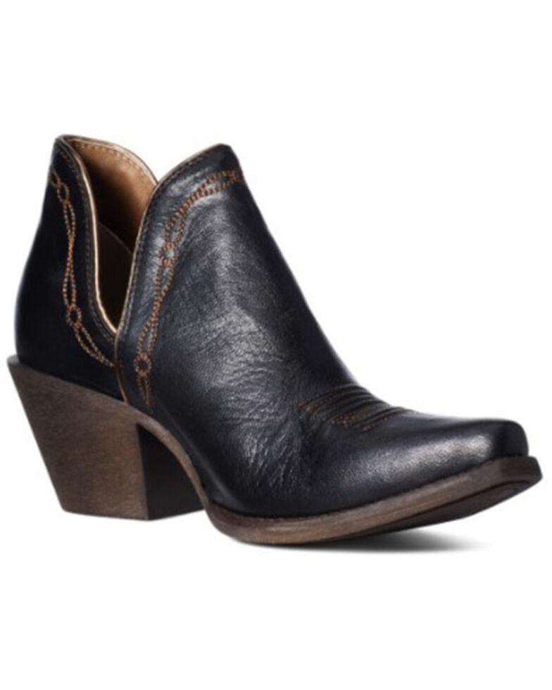Ariat Women's Encore Brooklyn Fashion Booties - Snip Toe, Black, hi-res