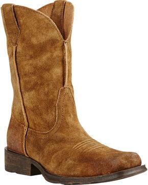 Ariat Men's Urban Rambler Western Boots, Mocha, hi-res