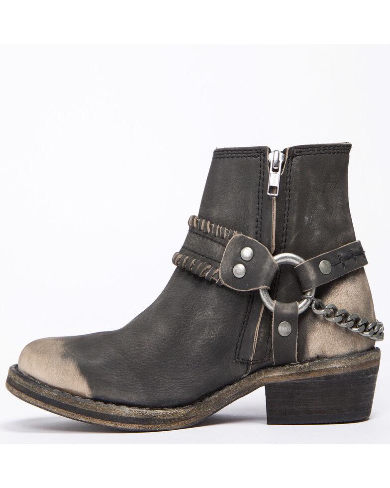 Free People Women's Stony Desert Western Booties - Round Toe, Black, hi-res