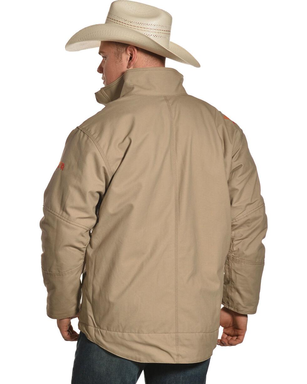 Ariat Men's FR Lined Workhorse Jacket - Tall, Beige/khaki, hi-res