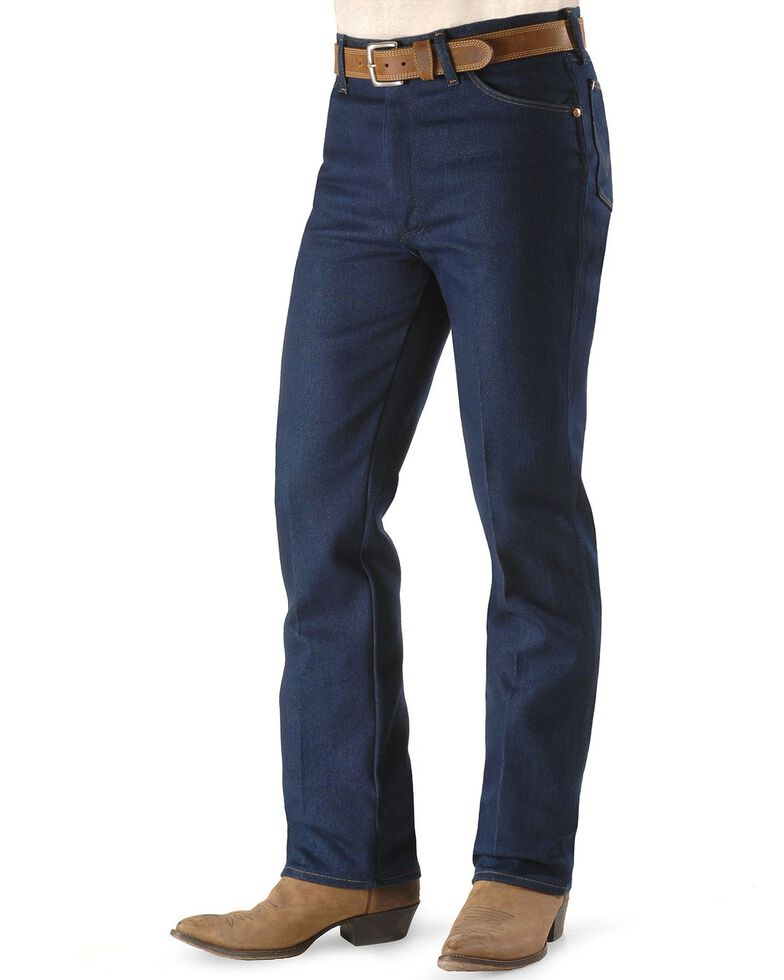 Wrangler Men's Cowboys Cut Stretch Regular Fit Jeans, Indigo, hi-res