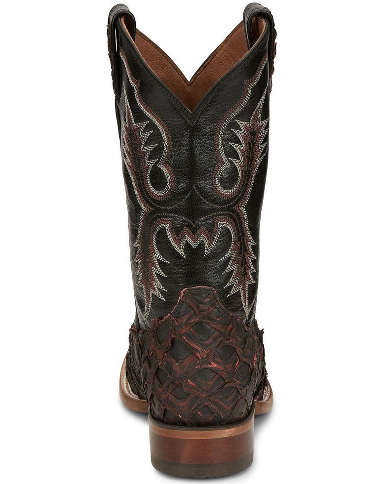 Tony Lama Men's Anchor Black Cherry Western Boots - Wide Square Toe, , hi-res
